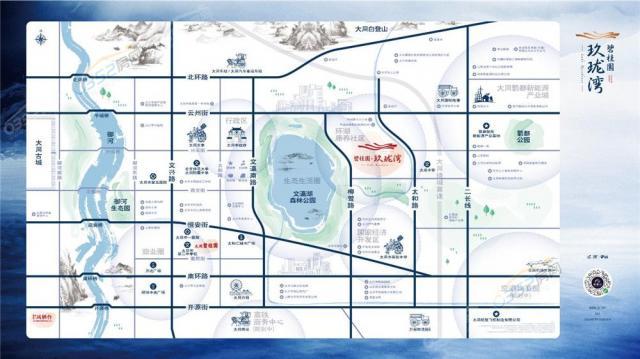 碧桂园玖珑湾区位图1