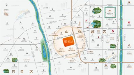 海棠郡区位图