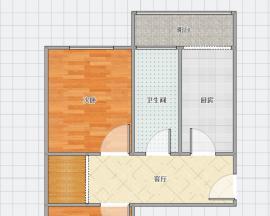 云泉里 2室1厅1卫 65㎡