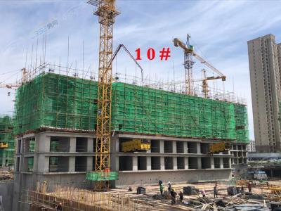 10号楼5月工程进度