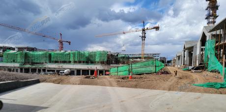 紫云华城二期2021.5工程进度