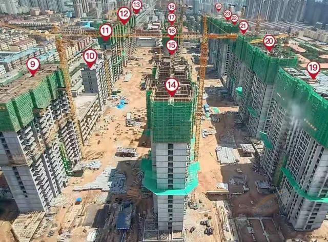 2021.6.18日各楼栋实景图1