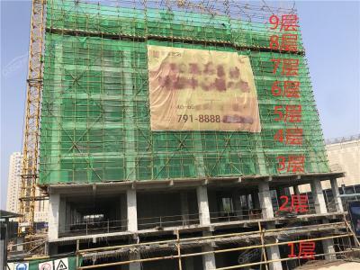 金源公馆6.27工地实景图