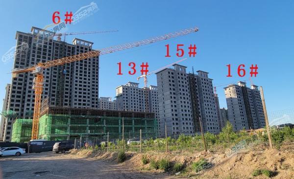 星湖世家锦园2021.6.15实景图
