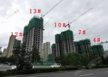 2021年7月御东新区各大楼盘工程进度汇总(下)