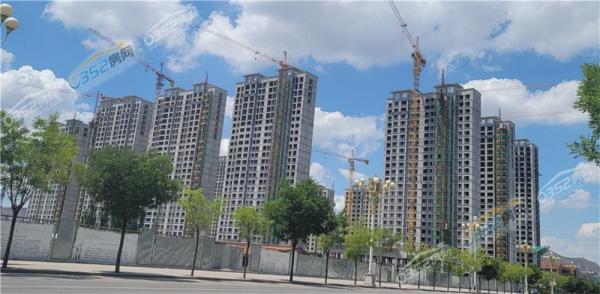 学府华庭2021.7.9实景图